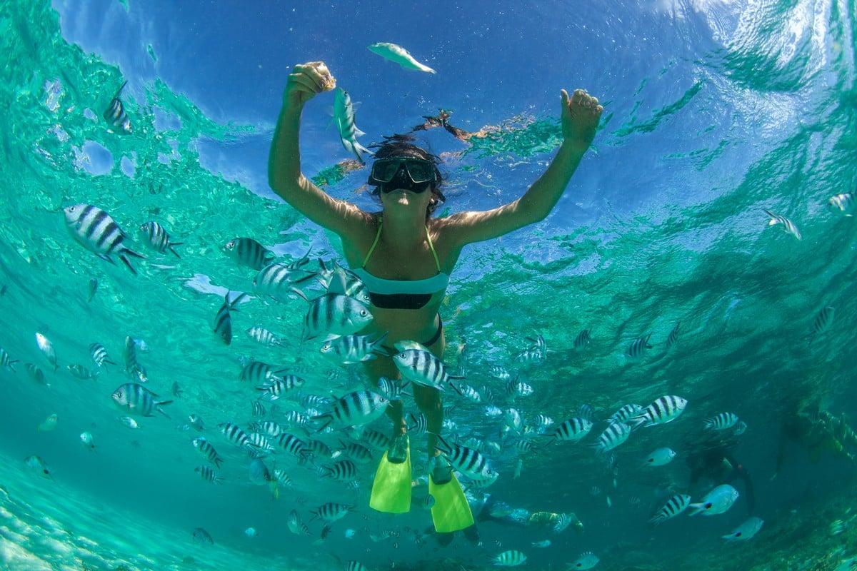 Snorkeling - 5 สถานที่ท่องเที่ยวของไทย สำหรับสายเฮลตี้ ออกกำลังกายได้แม้ตอนไปเที่ยว