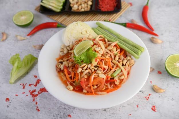 Healthy food 02 - เย็นนี้กินอะไรดี ? แนะนำ 10 เมนูอาหารเย็น อร่อยได้ ไม่อ้วน