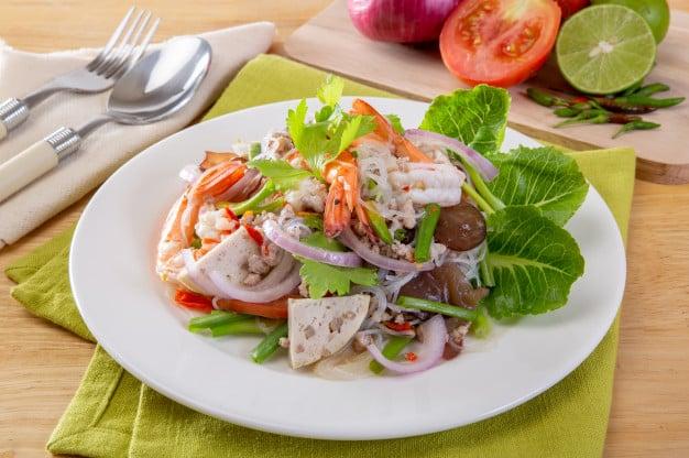 Healthy food 03 - เย็นนี้กินอะไรดี ? แนะนำ 10 เมนูอาหารเย็น อร่อยได้ ไม่อ้วน