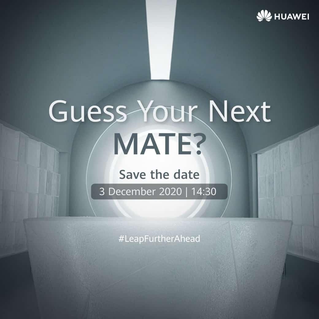 HUAWEI Mate 40 Series Live Teaser - HUAWEI Mate 40 Series อย่างเป็นทางการในประเทศไทย 3 ธันวาคมนี้