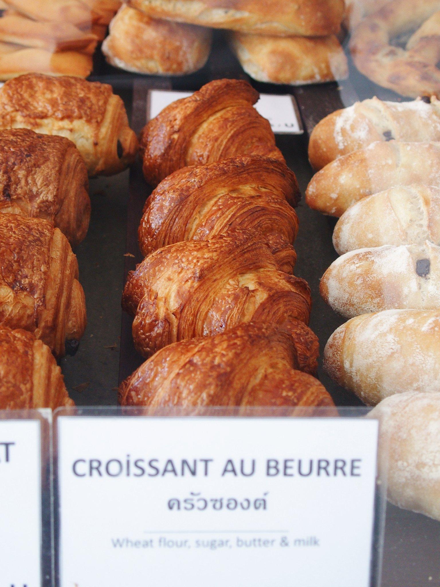 Croissant 6 - แนะนำ 7 ร้านครัวซองต์ กรอบนอกนุ่มใน อร่อยทุกคำที่สัมผัส